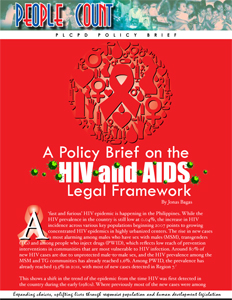 HIV-AIDS policy brief cover